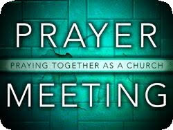 Tuesday Night Prayer Meeting